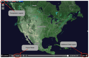 How to use the Interactive Radar