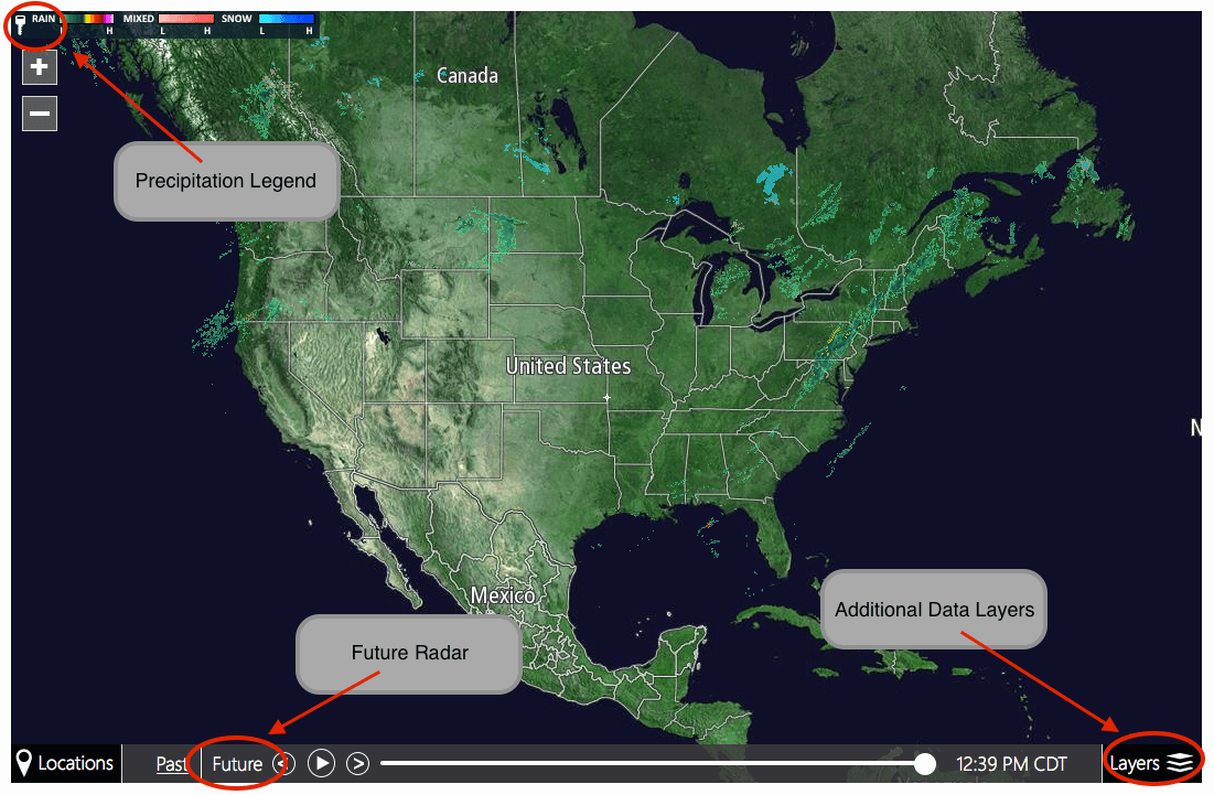 southeast interactive radar real time and predictive radar