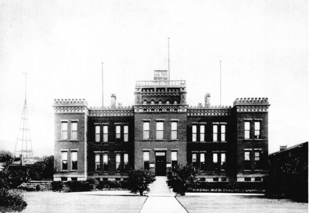 First Weather Bureau Office in Washington, D.C. Photo from 1912.