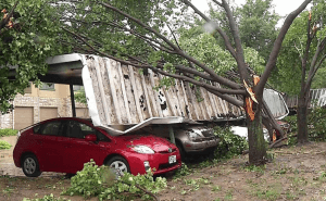 Damage in Irving