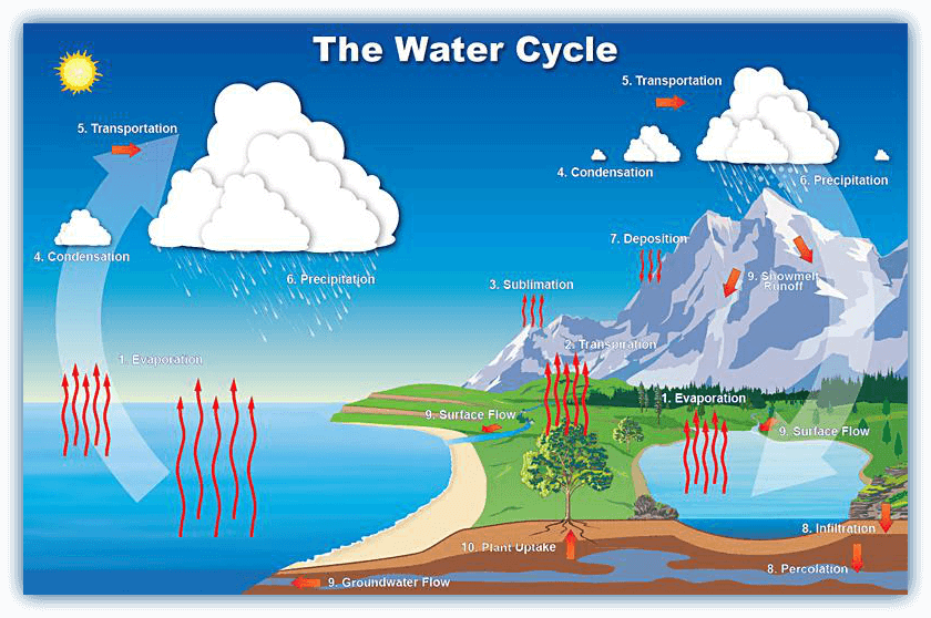 What Is The Water Cycle And Can The Cycle Be Disrupted Iweathernet
