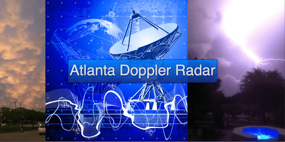 Atlanta Weather Radar  Doppler  IWeatherNet