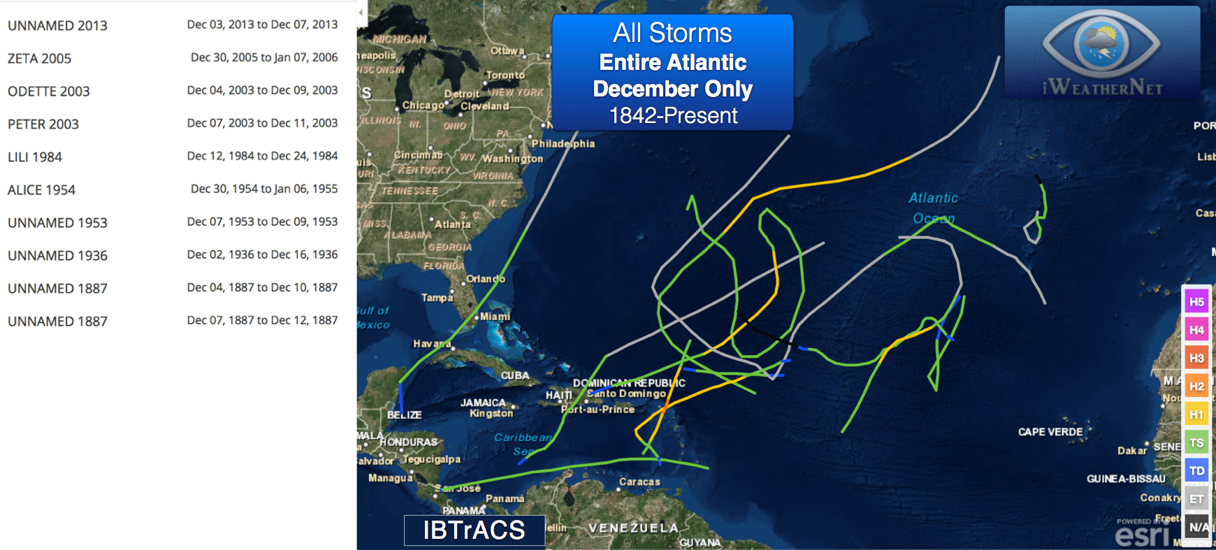 all-december-tropical-storms-historical-atlantic