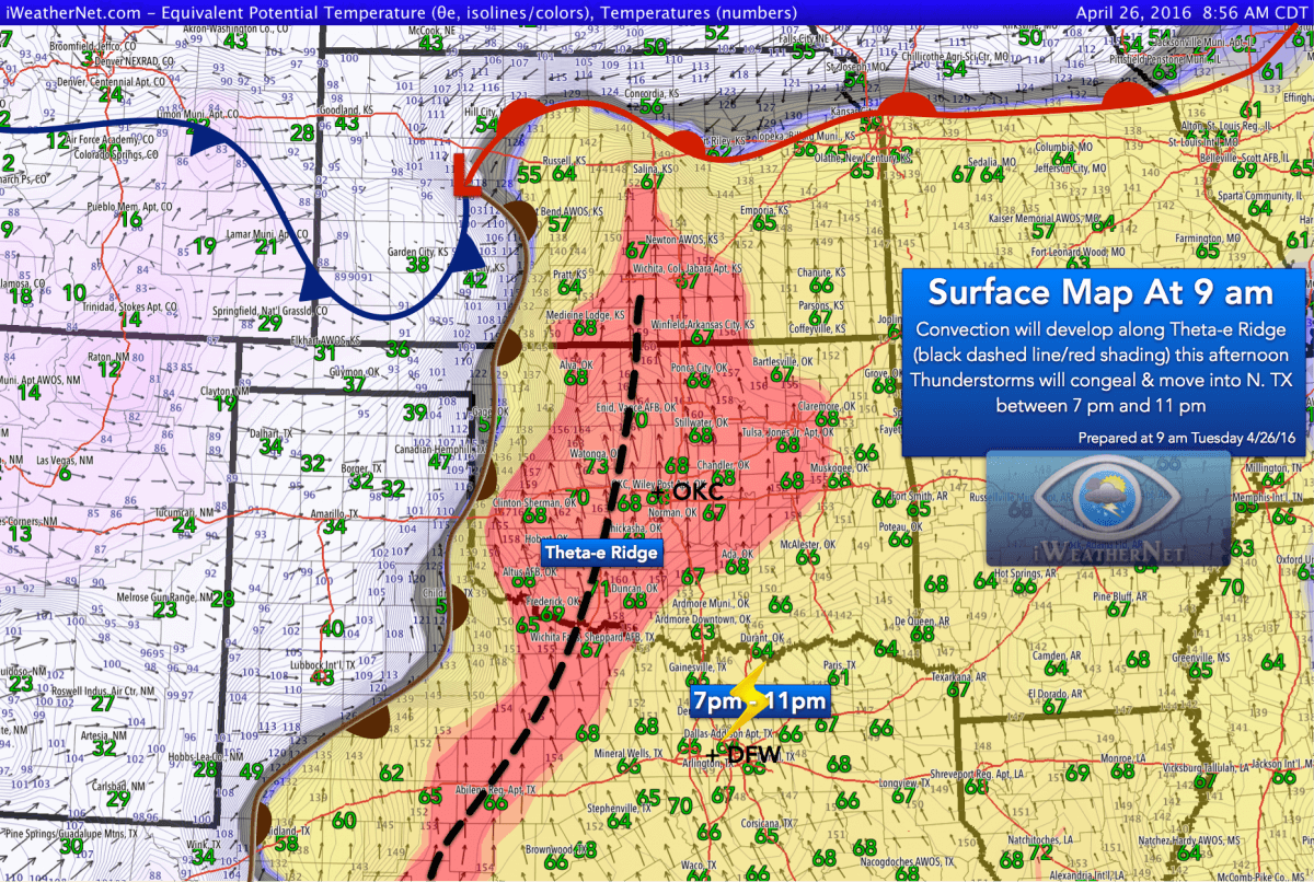 9 am Tuesday 4/26 partial surface analysis