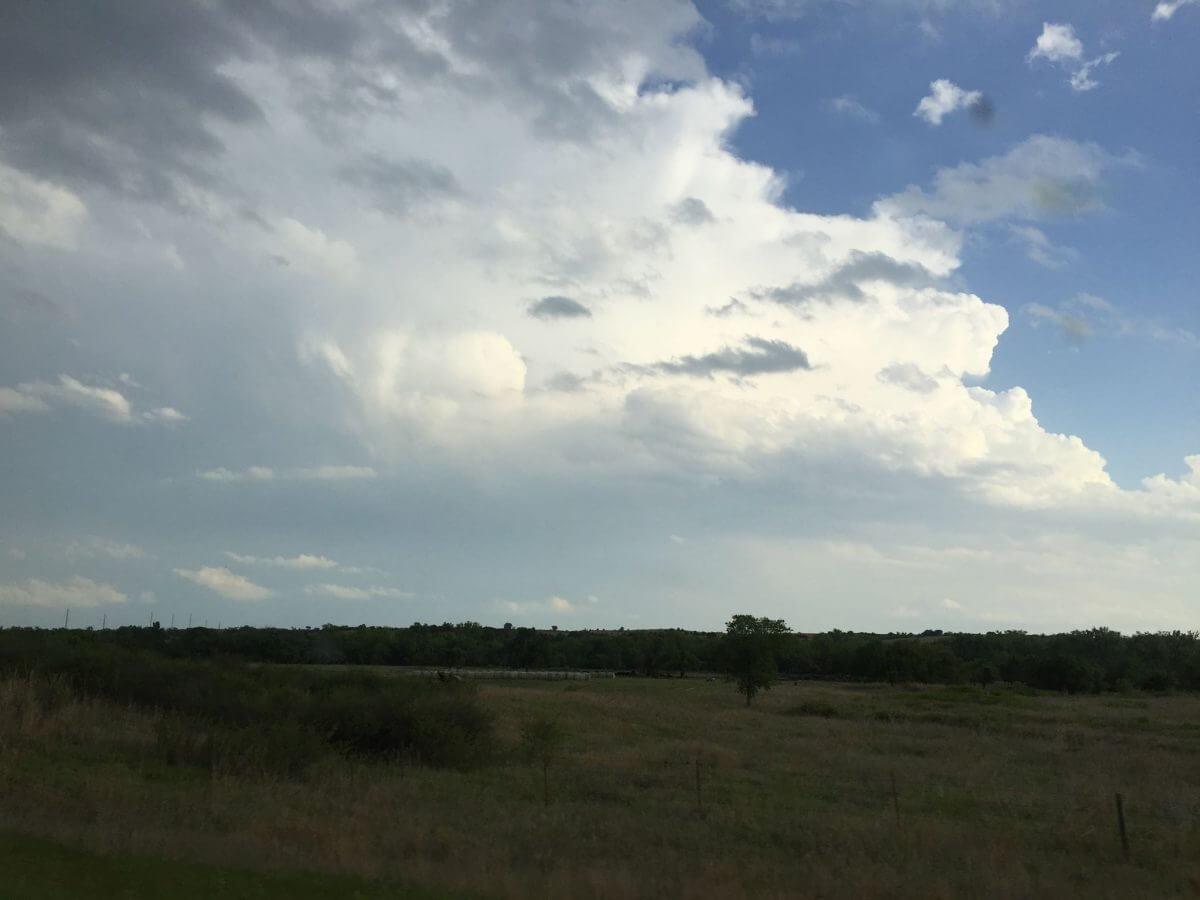 Supercell near Greensburg, Kansas, May 8th