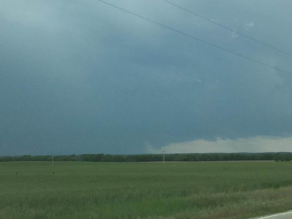 Lowering at the base of a supercell