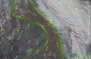 Leoti satellite analysis