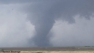 Dodge City horizontal vortex