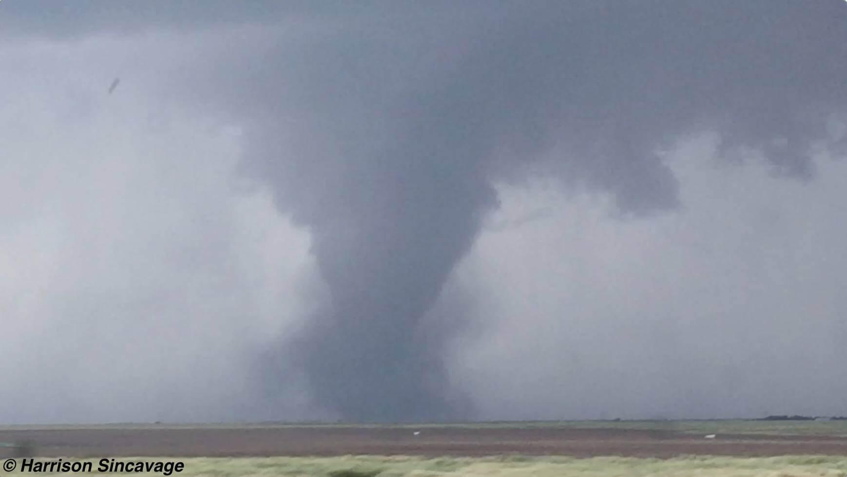 Family Of Tornadoes Near Dodge City Kansas On May 24th 2016