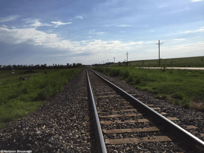 Chapman railroad tracks