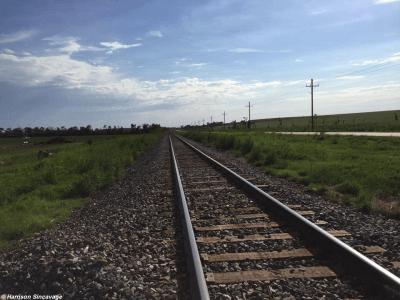 Chapman railroad tracks