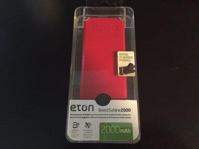 Eton hand charger
