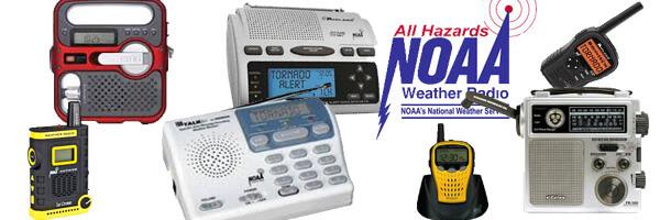 NOAA weather radios