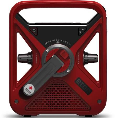 FRX3 rechargeable weather alert radio.