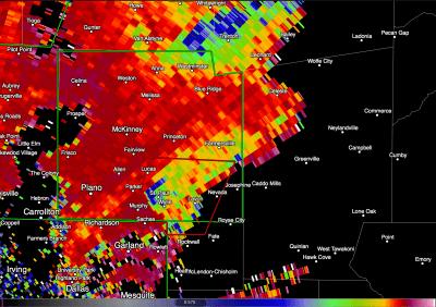 Garland, Texas, EF-4 tornado.