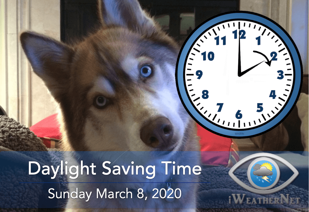 "When to set your clocks ahead one hour (""spring forward"") for DST in 2020"