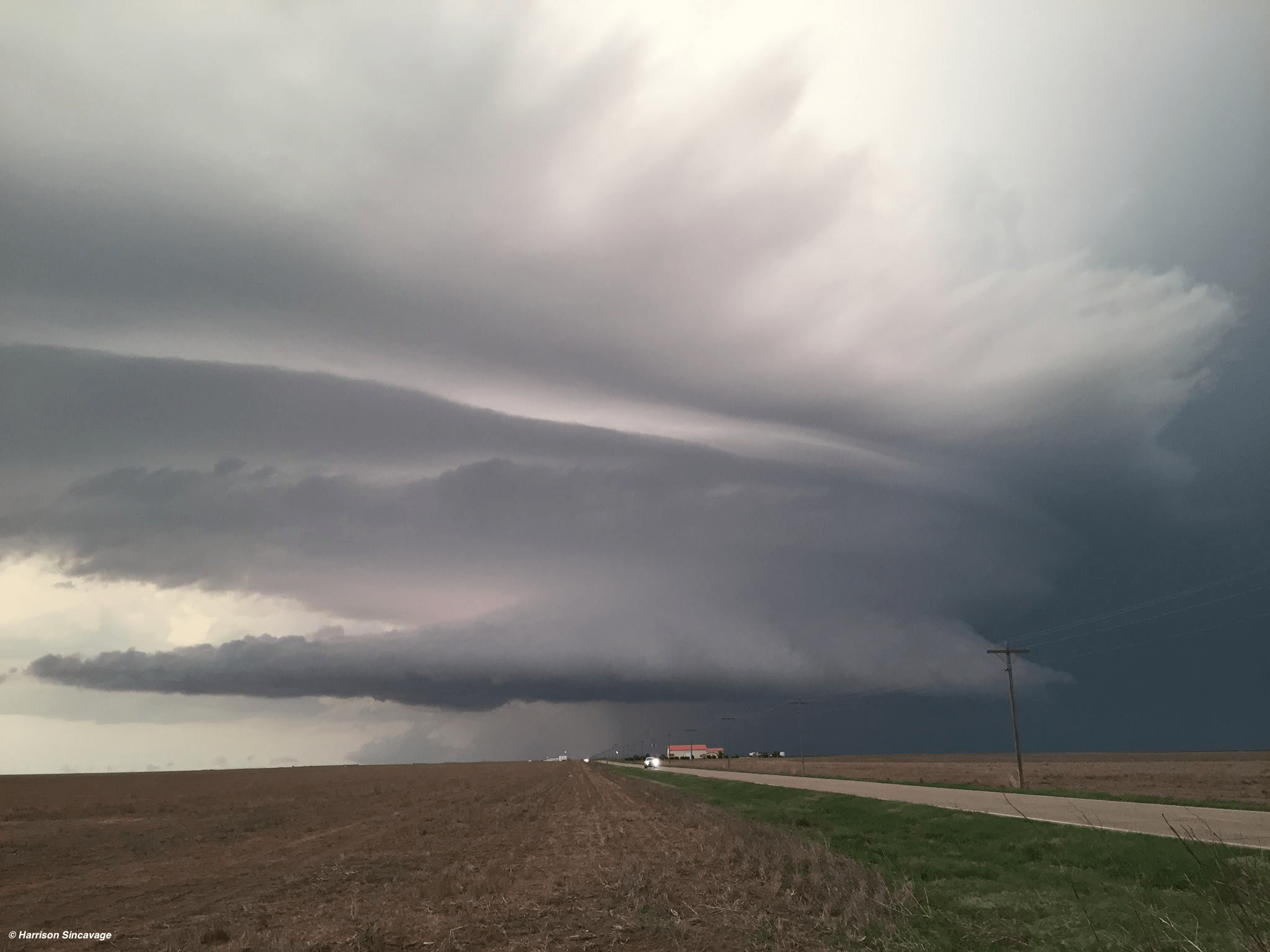 the formation of thunderstorms within different wind shear