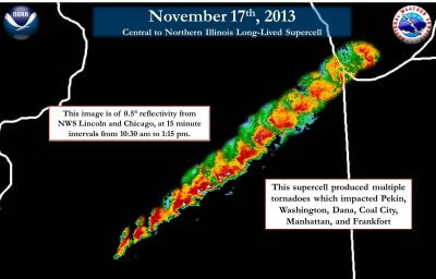 Four Year Anniversary of the November 17th, 2013, Tornado Outbreak