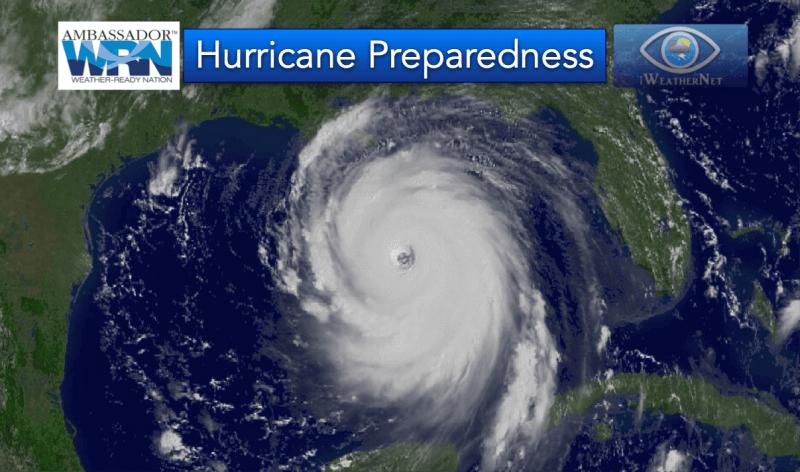 iWeatherNet is a NOAA Weather Ready Nation Ambassador. Image: Hurricane Katrina on August 29, 2005.