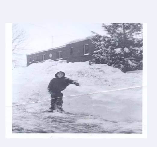 Tom at age 13 in the middle of the street after a whopping 43 inches of snow in Rome, NY. Image credit: Tom Moore